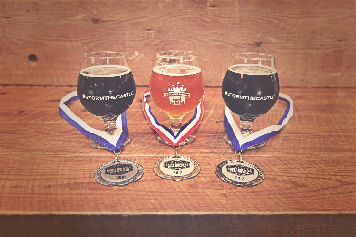 Castleburg Brewery beer awards